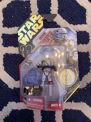 Star Wars action figure of airborne trooper for Sale in Harvey, LA