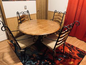 Dining Table with Chairs for Sale in Middleburg Heights, OH