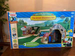 Talking Railway Series- The Great Discovery Set with Engine Recognition technology for Sale in Phoenix, AZ