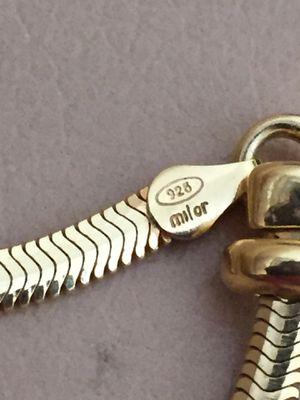 "Italian: Sterling Silver 20 "" Necklace for Sale in Dublin, CA"