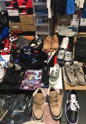 Bunch of Heat! Jordan, Supreme, Yeezy, Etc for Sale in Santa Fe Springs, CA