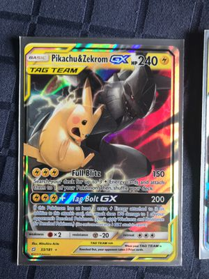 Tag Team Collection Pokemon Cards for Sale in Maple Valley, WA