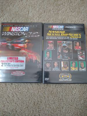 Nascar Lot Of 2 DVD: Winston Cup 2002, Nextel Cup 2004 for Sale in Garner, NC