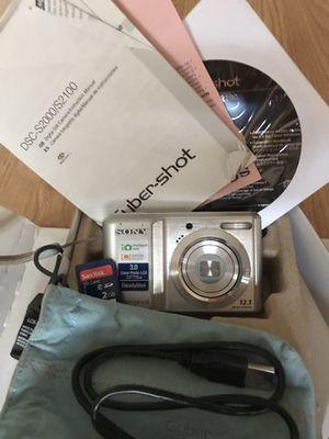 Sony digital camera for Sale in Denver, CO