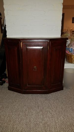 Solid wood, Cabinet, LWH 33x12x30 inches for Sale in Rockville, MD