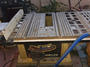 Delta table saw for Sale in Goodyear, AZ