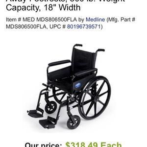 Medline K4 Lightweight Wheelchair for Sale in Phoenix, AZ