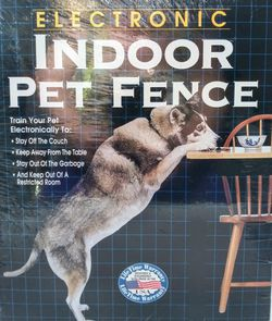 Electronic Indoor Pet Fence Train Restrict Your Dog Pet Supplies Made in USA for Sale in Garland,  TX