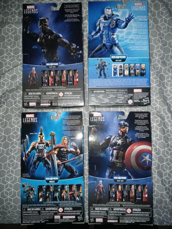 Marvel Legends($80 for all)