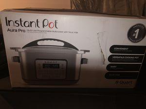 Instant pot aura pro for Sale in Arlington, TX