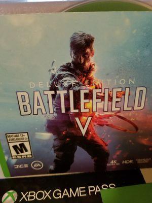 Battlefield V (Deluxe Edition -Xbox One - Read Description) for Sale in Arlington, VA