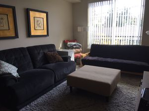 Sofa or futon for Sale in Santa Clara, CA