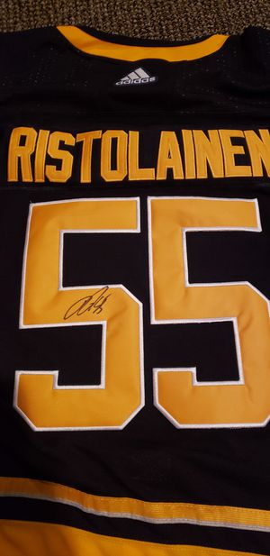 Used, Rasmus Ristolainen Buffalo Sabres SIGNED jersey XL Blue for Sale for sale  Cheektowaga, NY