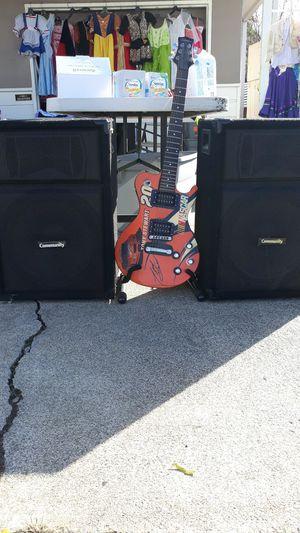 Speakers & nascar edition guitar for Sale in Hayward, CA