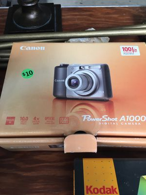 Canon PowerShot digital camera for Sale in McAllen, TX