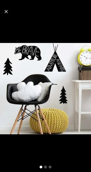 Little man cave nursery adventure country wall decals for Sale in Longview, WA