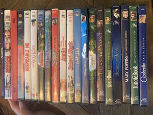Disney DVDs and assorted kids movies for Sale in University Place, WA