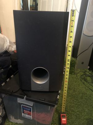 ONKYO SUBWOOFER w/ surround system for Sale in Salt Lake City, UT