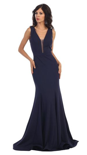 Navy Blue Dress Brand New Size Large for Sale in Downey, CA