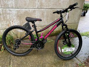 "Brand New 24"" Mongoose Mountain Bike. Girls ladies bicycle for Sale in Philadelphia, PA"