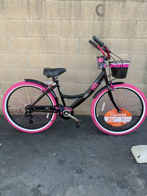 "LIMITED EDITION WOMENS 26"" OCTOBER 7 SPEED SHIMANO GEAR SHIFT BEACH CRUISER BIKE for Sale in Buena Park, CA"