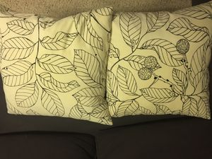 2 pillows for Sale in Columbia Station, OH