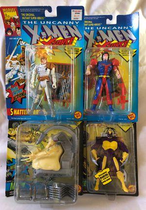 Uncanny X-Men, X-Force Action Figures , Marvel Comics, Toy Biz for Sale in Romoland, CA