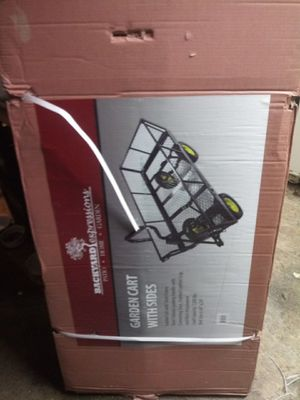 Garden cart with sides for Sale in Spokane, WA