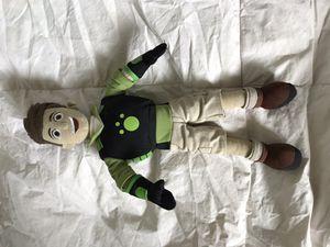 Wild Kratt Chris plush doll for Sale in West Linn, OR