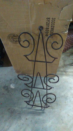 Metal wall or floor magazine rack for Sale in Carriere, MS