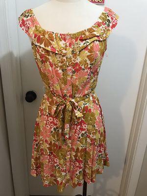 Yellow and Orange dress! Medium size for Sale in Springfield, VA