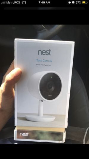 Nest can iq indoor security camera (Brand new) for Sale in San Marcos, TX