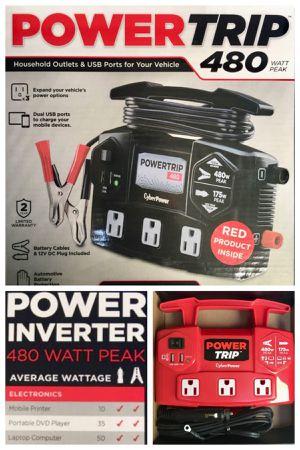 Power Inverter 480 Peak Watts!! for Sale in Los Angeles, CA