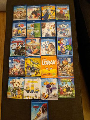 Lot of 22 Disney Kids Blu-Ray DVD's for Sale in Temecula, CA