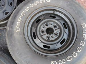 Two 14 inch Ford Ranger rims. 5 on 4.5 lugs fit cars for Sale in Montebello, CA