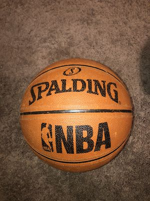 NBA SPALDING BASKETBALL for Sale in Webster, MA