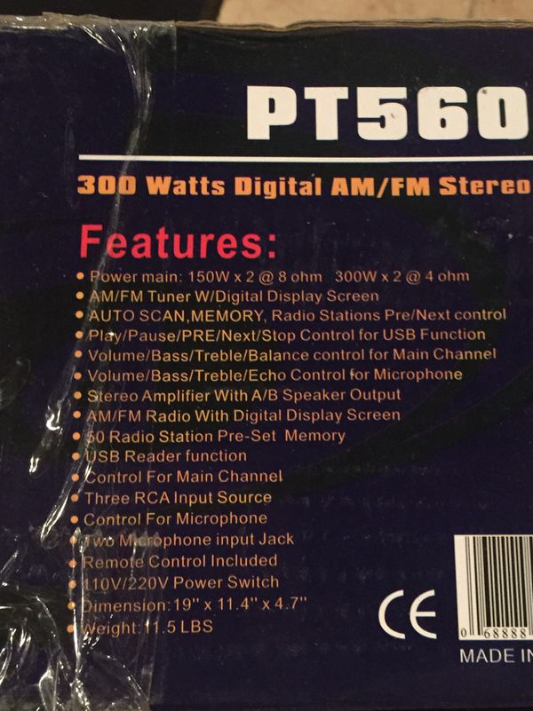 PYLE stereo receiver