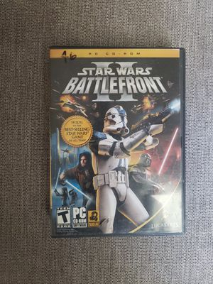 Start wars battlefront 2 pc game for Sale in Ontario, CA