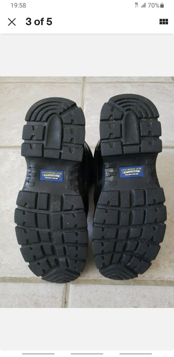 Skechers HydroGuard Work/Tactical Boots Size 10 1/2 M