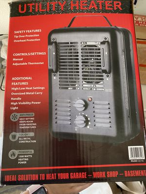 Brand new never used plugin space heater for Sale in San Dimas, CA