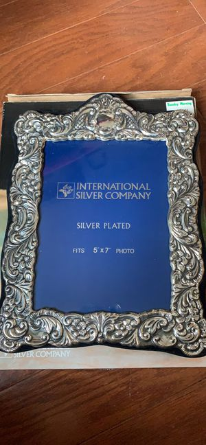 Silver plated frame for Sale in Rockville, MD