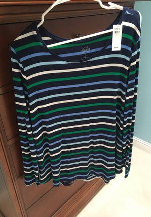 Stripe top for Sale in Williamsburg, MI