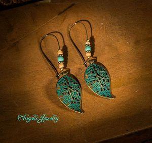 Boho Leaf Earrings for Sale in Frederick, MD