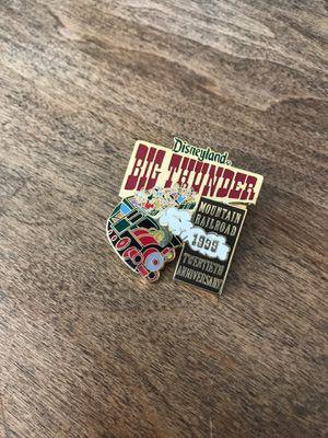 Disneyland Big Thunder Railroad Pin LE 20th Anniversary for Sale in Murrieta, CA