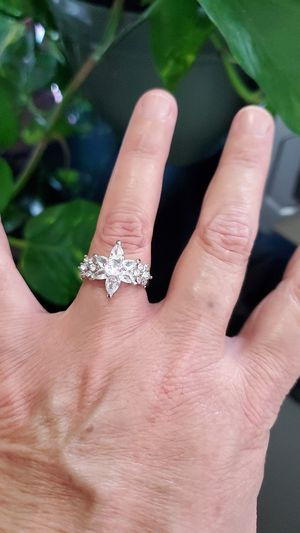 Womans cubic zirconia ring size 7 for Sale in Los Angeles, CA