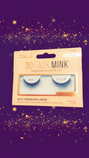 Faux mink beautiful eyelashes for Sale in Long Beach, CA