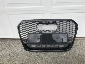 2012 2013 2014 2015 Audi A6 S6 C7 RS6 QUATTRO Style Bumper Grill Honeycomb NEW parts for Sale in Kent, WA