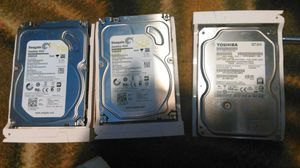Hard drives...total of 7 terabytes!!!! for Sale in Indianapolis, IN
