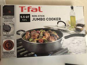 Tfal jumbo cooker for Sale in Tucson, AZ