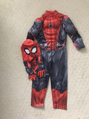 Spiderman costume suit size 4T for Sale in Pacific, WA